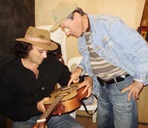 Almir Sater e Alexandre Barcelos